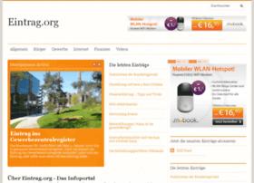 eintrag.org