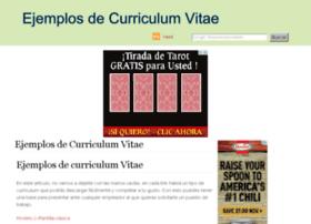 ejemplosdecurriculumvitae.net