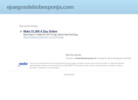 ejuegosdebobesponja.com