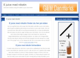 ejuicemednikotin.dk