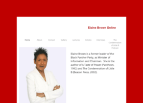 elainebrown.org