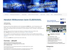 elbekanal.de