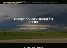elbertcountysheriff.com