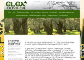 eleaoliveoil.com