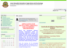 Jomo Kenyatta University of Agriculture & Technology - eLearning