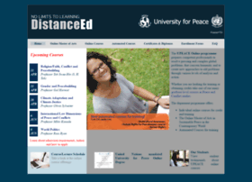 elearning.upeace.org