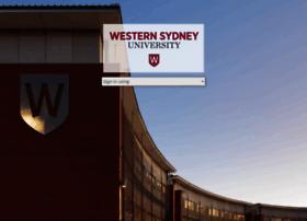 elearning.uws.edu.au