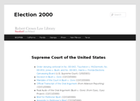 election2000.stanford.edu