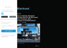 electionblackout.com
