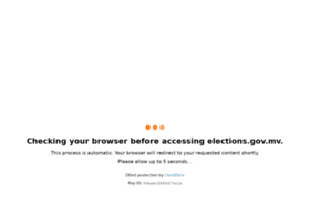 elections.gov.mv