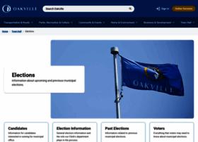 elections.oakville.ca