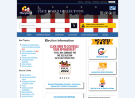 elections.state.md.us