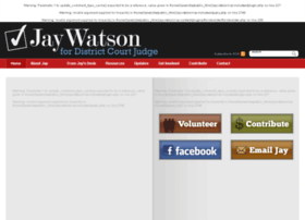 electjaywatson.com
