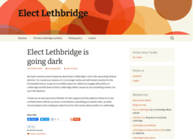 electlethbridge.wordpress.com