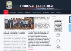 Electoralmisiones.gob.ar