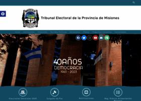 electoralmisiones.gov.ar
