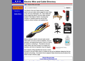 electric-wire-and-cable.regionaldirectory.us