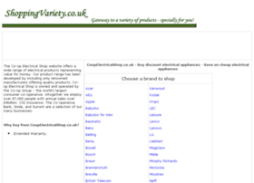 electrical-appliances.shoppingvariety.co.uk