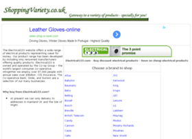 electrical-goods-appliances.shoppingvariety.co.uk