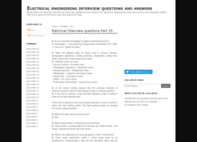 electricalinterviewquestions4u.blogspot.in