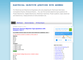 electricalobjectivequestion.blogspot.in