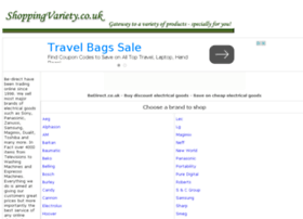 electricals-store-online.shoppingvariety.co.uk