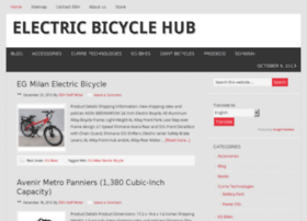 electricbicyclehub.com