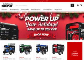 Electricgeneratordepot.com