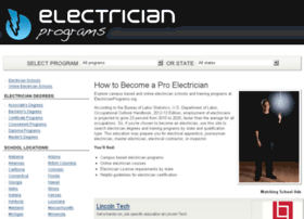 electricianprograms.org