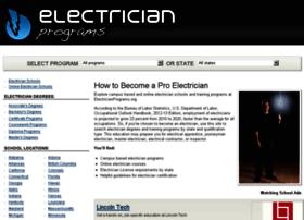 electricianprograms.org