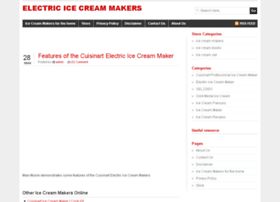 electricicecreammakers.co.uk