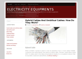 electricityequipments.com