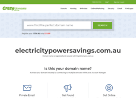 electricitypowersavings.com.au