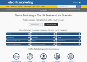electricmarketing.co.uk