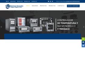 electricosgenerales.com.pe