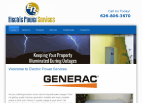electricpowerservices.net