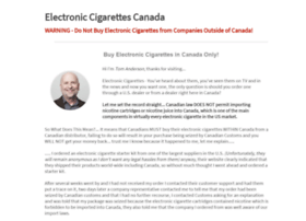 electronic-cigarettes-canada.ca