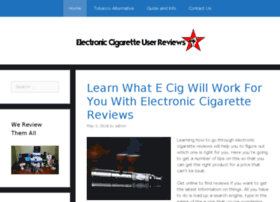 electroniccigaretteuserreviews.co.uk