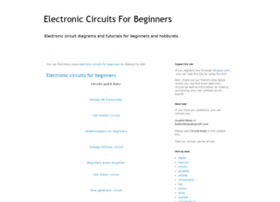 electroniccircuitsforbeginners.blogspot.in
