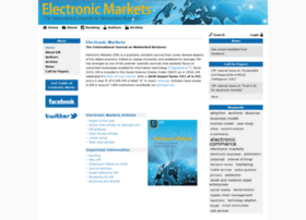 electronicmarkets.org