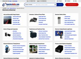 electronics-electrical.exportersindia.com
