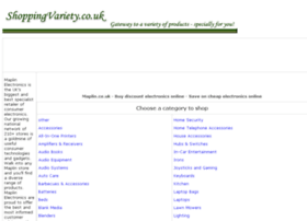 electronics-online.shoppingvariety.co.uk