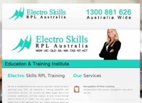 electroskillstraining.com.au
