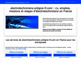 electrotechniciens.enligne-fr.com