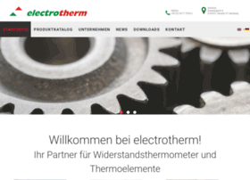 electrotherm.de