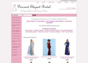 elegantbridaldiscount.com