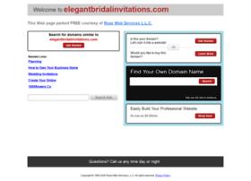elegantbridalinvitations.com