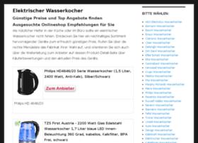 elektrischerwasserkocher.com