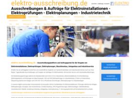 elektro-ausschreibung.de