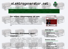 elektrogenerator.net